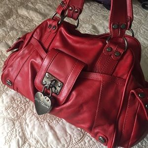 Red Betsey Johnson Bag